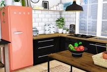 The Sims 4 kitchen stuff