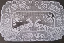 HAND CROCHET & KNITTED LACE / HAND CROCHET PIECES