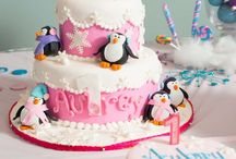 Penguin bday party