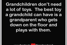 Grandparenting and Grandchildren / Fun ideas for things to do with your grandchildren.  Plus, the benefits of grand[parenting for you and the grandkids.