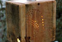 hout/wood to do / ideeën voor creaties met hout