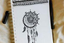 Mandala Traumfänger Tattoo
