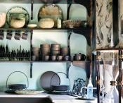 Kitchens/open shelving / by Camden