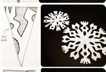 Śnieżynki wzory