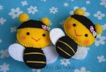 Felt sewing & Clothes pin dolls