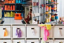 Projects to Try / Organising a space, colourful and fun
