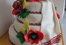 Торт на украинскую тематику