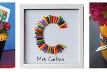 Classroom-Teacher Gifts / by Debbie Jones