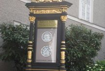 Tower clocks and street clocks