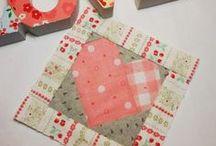 Quilt Blocks---- Hearts