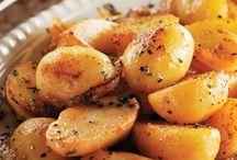 Patatas, humus