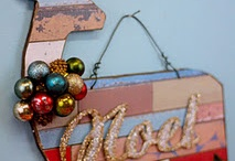 Holiday Decor Ideas and DIY's by Aaron Christensen / Get your craft on with a few ideas and DIY's