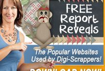 FREE Report / The National Association of Digital Scrapbookers Toolbox of Websites: I have compiled a list of all the websites I use on a daily basis including best places to get scrapbooking fonts, digi-kits, Photoshop Elements training and much more! You would be surprised, but a lot of the tools are totally FREE! These websites can save you so much time and money!