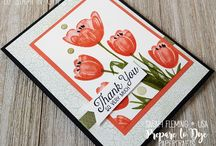 Stamping Up Tranquil Tulips