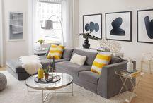 Decoração: Cinza / Confira dicas e inspirações para decorar usando cinza. Visite www.thyaraporto.com/blog e acompanhe as novidades.