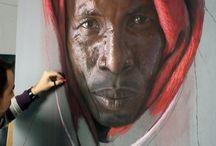 Pastels portrait / portrait