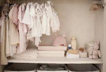 Baby wardrobe storage