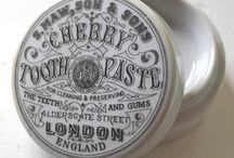 Toothpaste vintage