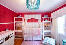 Red + Aqua Nursery / Red paired with the color aqua adds loads of pop in any child's space. / by Project Nursery | Junior