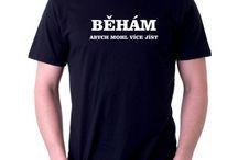 Vtipná trička s potiskem