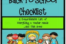 Classroom : Back to School / End of Year / by Nina Striler
