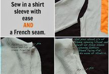 Sew tips and tutorials