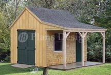 cabin shed  plans