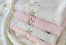 Linge de maison / Serviettes de toilette, draps, nappes ....