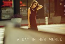 A Day In Her World (Lookbook)