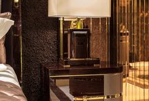Brown & Gold Interior