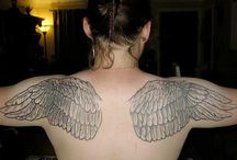 Awesome Wings Tattoos Collection / Let's explore the beauty of wings tattoos with us. Follow us this is one of the best awesome wings tattoos collection.