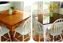 Kitchen table / by Carrie Duvall