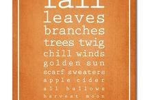 It's Fall..