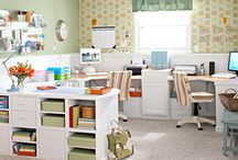 Home Office and Crafting Room
