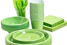 Lime grøn engangsservice / Stort udvalg af lime grøn engangsservice, lime grøn engangsbestik og lime grøn festartikler.