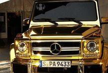 Gold car's