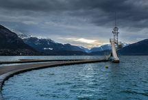 Lac d'Annecy / Le lac d'Annecy et ses abords