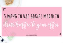 My Blog / Get all my best social media and business tips from my website www.jilanneholder.com.