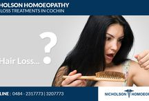 Hair Fall Treatments In Cochin / Nicholson Homeopathy Hair loss treatments in Cochin provide the best treatment for your hair loss problem and will help you to grow healthy beautiful hair.In Kerala, hair loss commonly affects more than seventy three percent of the men and more than forty percent of women. http://nicholsonhomeopathy.com/