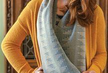 Weaving Scarves / Woven scarves