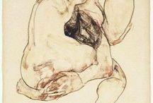 художники Шиле