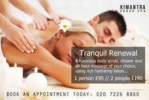 Kimantra Services / The Spa is your oasis in the middle of the city, here to help you on your path to beauty, health, and serenity. The spa treatment menu is a simple mix of popular beauty treatments and massage delights which are designed for both men and women.