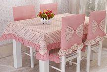 Masa örtüsü takımı