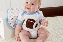 Little All Star / Little All Star   Sports Themed Baby Gifts   Football Baby Gift   Baseball Baby Gift   Basketball Baby Gift  #babygift #football #baseball