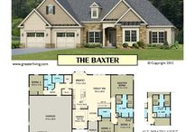 Ranch House Plans / 1 Story House Plans - Ranch