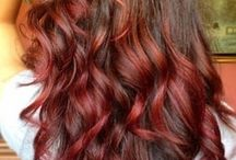 Hair colours / by Sharleen Mcilvena