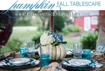 Farmhouse Entertaining / Farmhouse entertaining is simple yet special. It is basic and beautiful! Here is a collection of some of my favorite images that inspire beautiful ways to entertain friends and family in timeless farmhouse style!