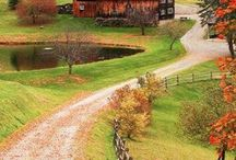 Brilliant Backyard Barns / My favourites are the red painted barns