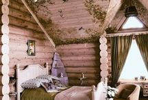 Fairytale Bedroom / Fairy-tale, Victorian based bedroom.