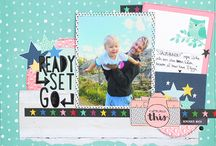 Things I created / My scrapbooking pages, mixed media, cards, papercrafts and other crafts I made